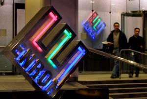 Enron entrance