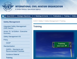 Other ICAO guidance and training ICAO also provide training on Annex 19 and SMS. (Click on the link to the left). This material refers to ICAO safety policy and Annex 19. There is also a Safety management training iKit The SMM page (above) also provides access to a safety management toolkit, which includes SMM 3rd Edition as well as editable appendices of the SMM for tailoring and the use by individual organisations.